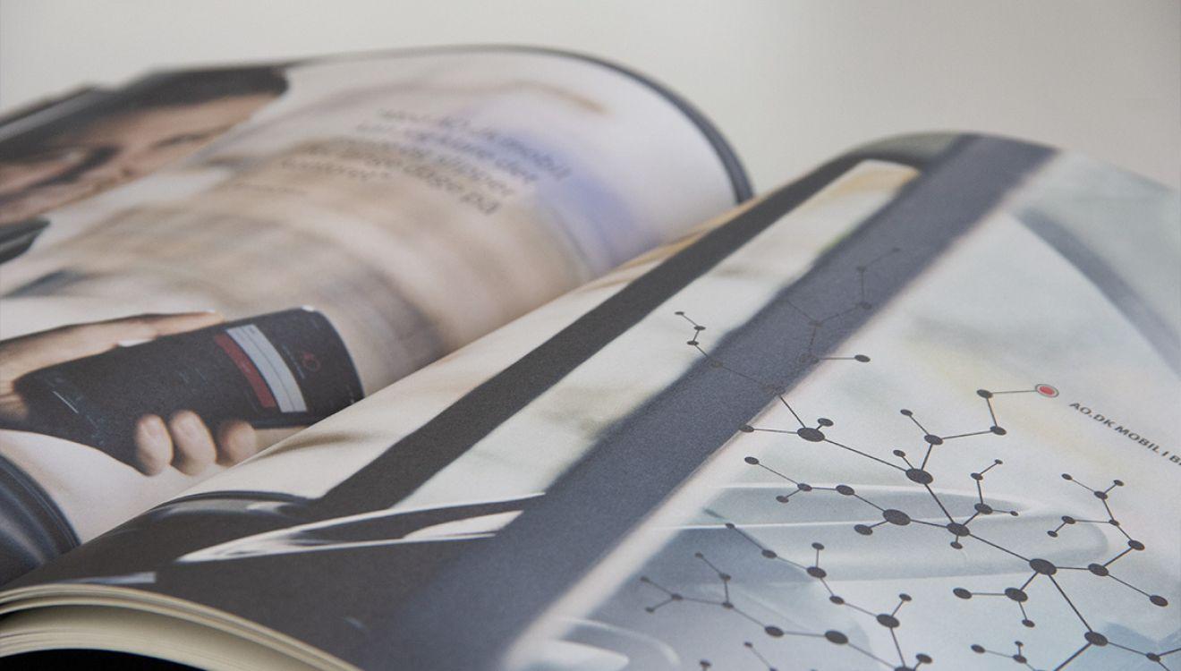 Stibo Complete - AO Johansens årsrapport er et enestående stykke håndværk