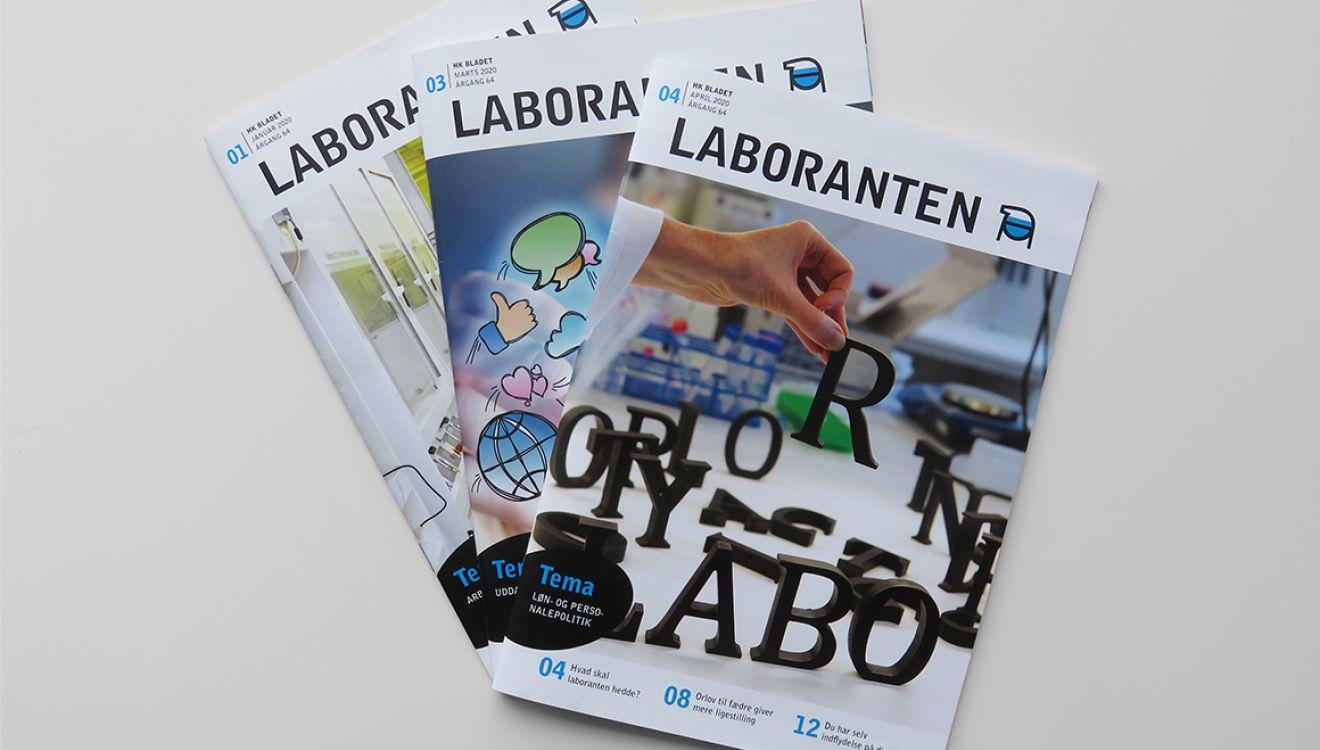 Stibo Complete - Redesign af fagbladet LABORANTEN