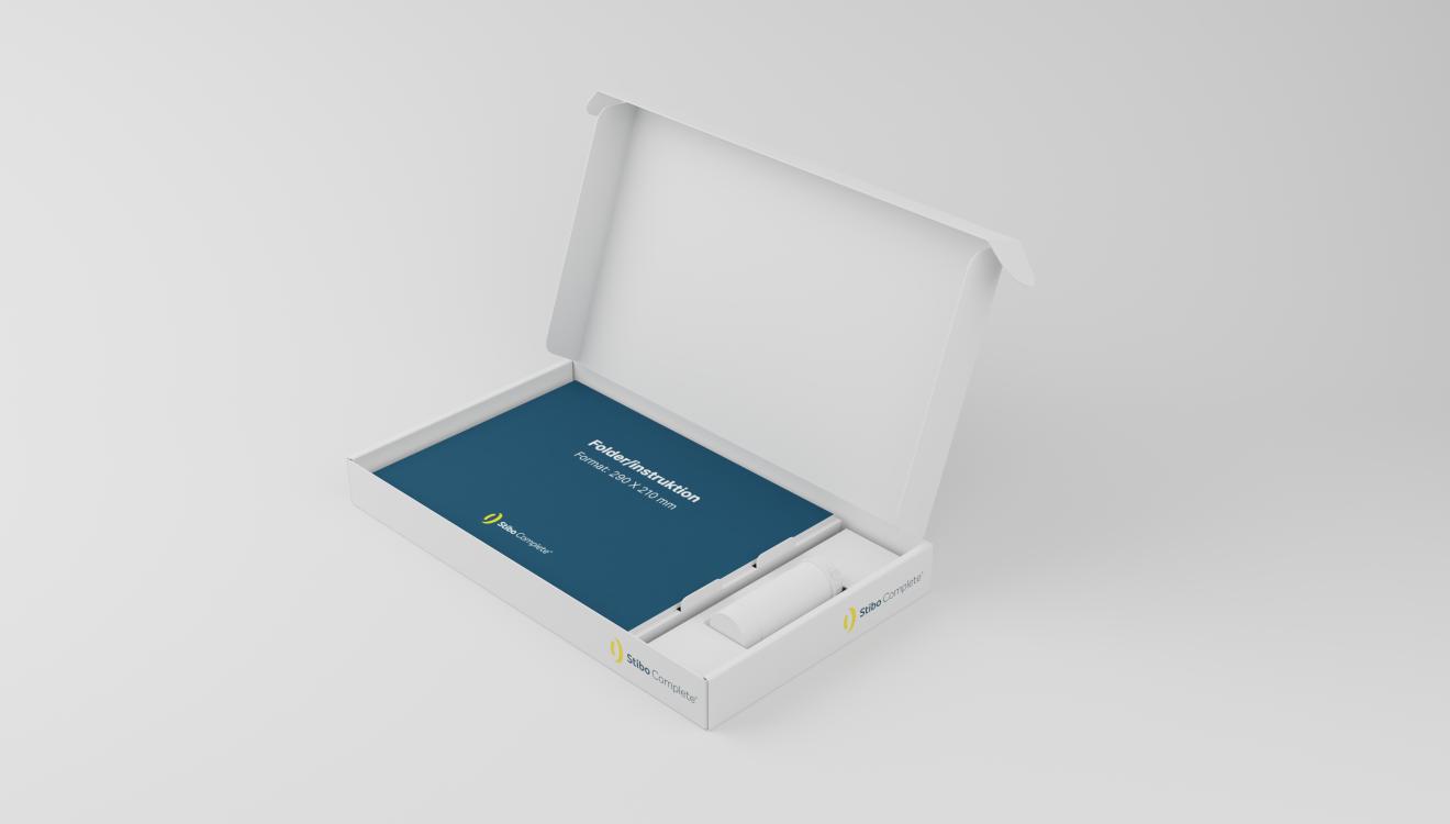 Stibo Complete - Flot design af præsentationsæske til pharma-produkter